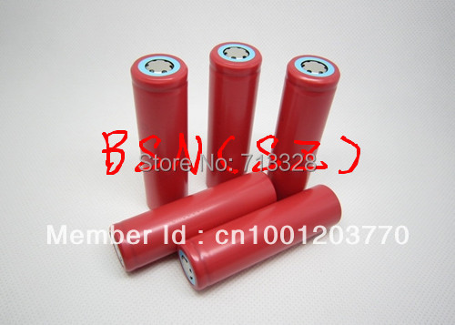 Original factory original sanyo free shipping 4 PCS / 18650 2600 mah (authentic) high capacity lithium battery(China (Mainland))