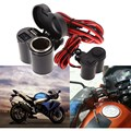 12 24V Motorcycle Scooter Handlebar Clamp Waterproof USB Cigarette Light Free Shipping E A