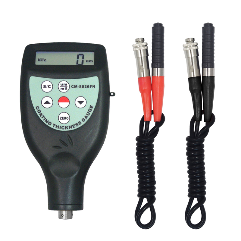 CM-8826FN F&NF Type Coating Thickness Gauge Meter Tester Coating Measurement Instruments(China (Mainland))