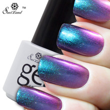Saviland 1pcs 3D Colorful Chameleonic Gel Nail Polish 24 Color UV Gel Soak Off Gel UV/LED Vernis Permanent Nail Tool