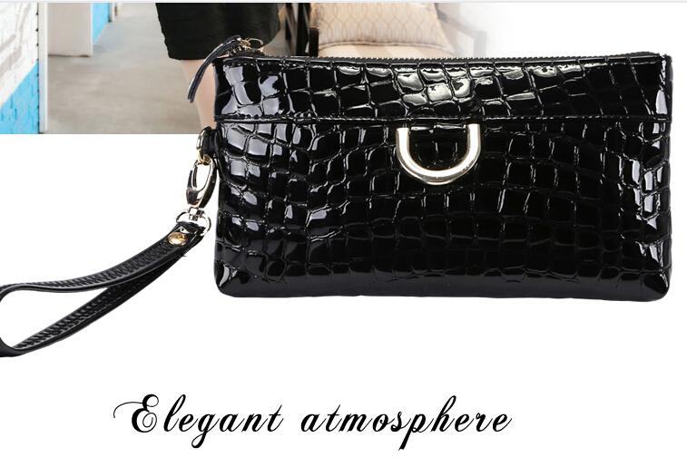 2015 new products mini female bag genuine leather clutch female mini clutch bag purse small women's day clutch bag(China (Mainland))