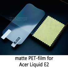 Glossy Clear Lucent Frosted Matte Anti glare Tempered Glass Protective Film On Screen Protector For Acer Liquid E2 Duo V370