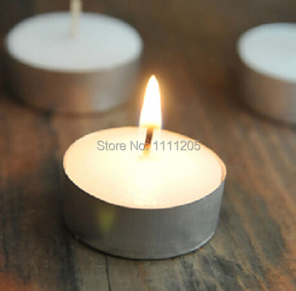 Food Warmer Candle ~ Pc tealight small white tea candle holder romantic