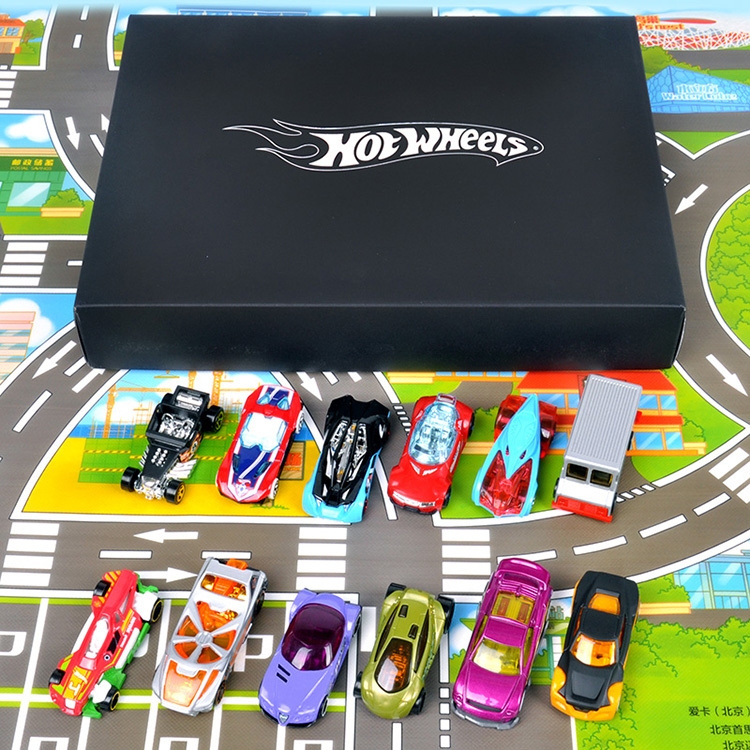 HOT WHEELS Hot little sports car 1:64 Set Children's toy car Fast & Furious Beautiful gift box Alloy car model Gifts for boys(China (Mainland))