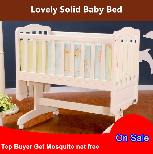 dolphin fashion solid wood baby cradle bed eco friendly solid wood infant bed bebe shaking bed. Black Bedroom Furniture Sets. Home Design Ideas