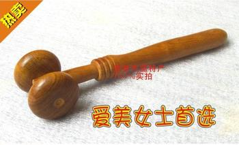 "5""ASIAN MASSAGE THERAPY FACE, HEAD REFLEXOLOGY RELAXATION WOOD WOODEN ROLLER TOOL"