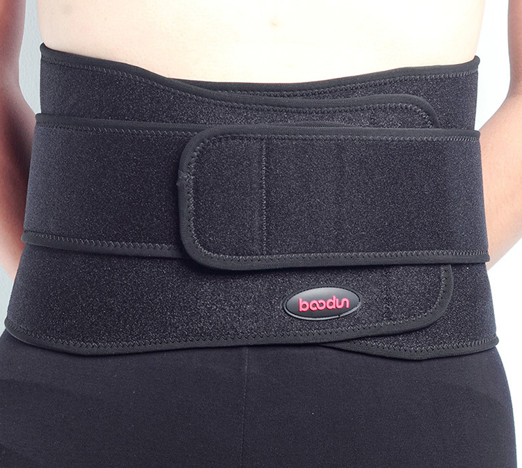Dropshipping Professional Adjustable Slimming Exercise Belt Men Women Shed Water Weight Back Brace neoprene waist support(China (Mainland))
