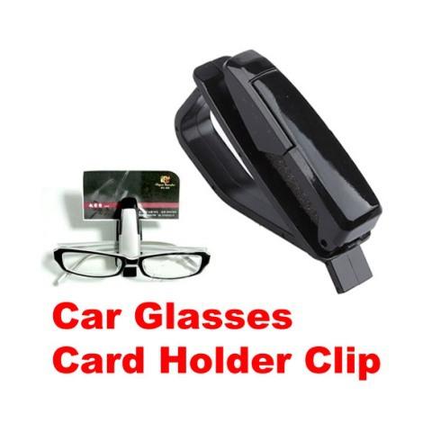Car Vehicle Visor Sunglass Eye Glasses Holder Clip C H1E1(China (Mainland))