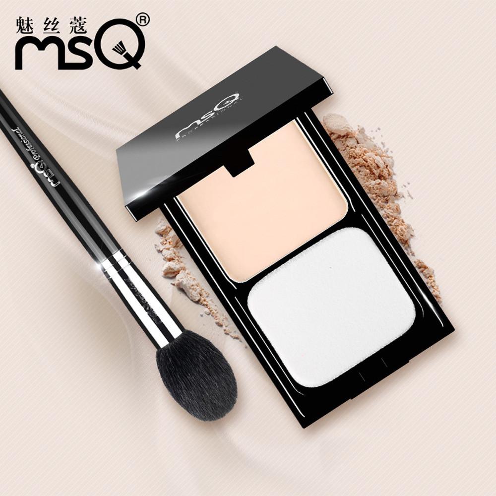 2 color/set Professional Natural Wet Dry Dual-use Smooth Skin Face Finishing Loose Powder top Foundation Long Lasting Makeup kit(China (Mainland))