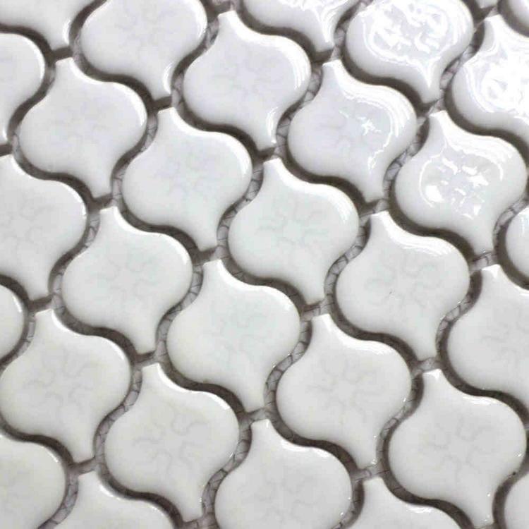 glazed white color lantern design ceramic mosaic tiles for living room bathroom shower tile kitchen backsplash hallway fireplace<br><br>Aliexpress