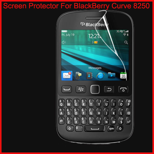 Wholesale Hot New Products 100PCS/LOT Clear LCD Screen Protector Film For BLACKBERRY Bold 8250 Free Shipping(China (Mainland))