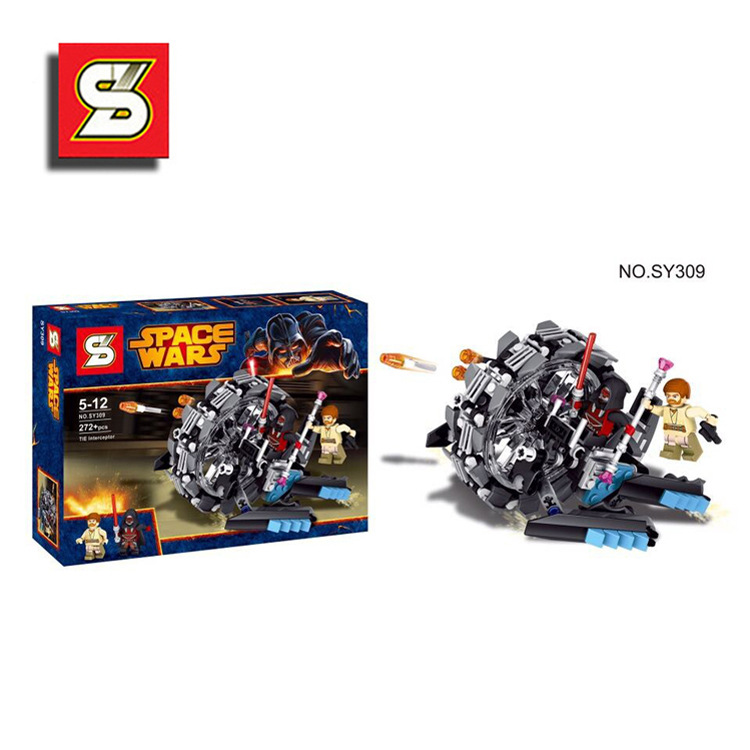 SY309 Star Wars Warships Spaceship General Grey Voss of The Chariot Wheel Building Blocks Bricks Best Children Gift Toys(China (Mainland))