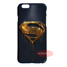 Superman Gold Logo Cover Case for LG Samsung S3 S4 S5 Mini S6 S7 Edge Plus Note 2 3 4 5 7 iPhone 4S 5S 5C 6 6S 7 Plus iPod 4 5 6(China (Mainland))