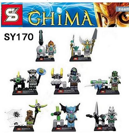 New !Chimaed Superhero SY170 King Of the Forest Minifigure Buliding Block Bricks Toy Learning Education Compatible With Legoes(China (Mainland))
