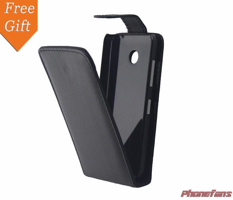 For Nokia 630 Top quality PU leather Back Case skin For Nokia Lumia 630 Retro Business Cover(China (Mainland))