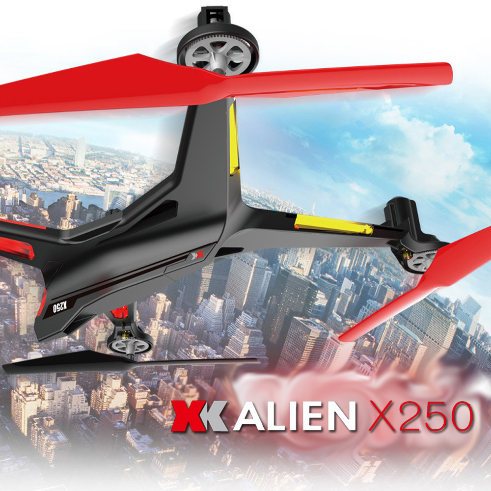 2016 XK Alien X250 RC Helicopter 2.4GHz 4CH Drone 6-Axis Gyro 3D 6G Mode Quadcopter Dron vs SYMA X5SW X5SC Fast Shipping<br><br>Aliexpress