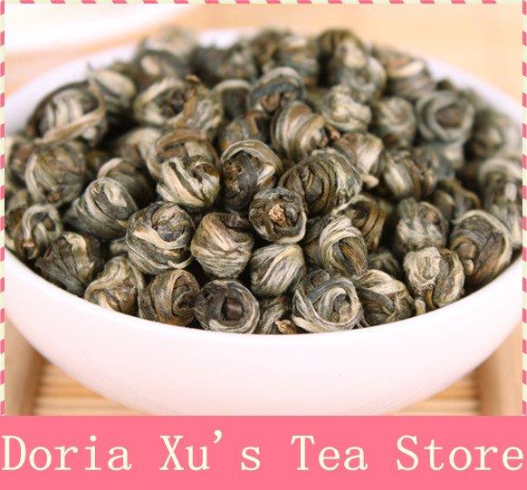 4oz/110g Jasmine Pearl Tea, Fragrance Green Tea,Free Shipping(China (Mainland))