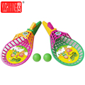 YUSHIXING 1 Pair Throwing and Catching the Ball Toys Baseball Racket Handball Indoor Outdoor Sports Game
