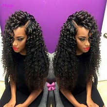 7A brazilian bouncy curl wig bleached knots lace front wigs glueless baby hair short lace wigs(China (Mainland))