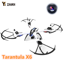 Dronen JJRC Tarantula yizhan x6 4CH 2.4GHz 6-Axis gyro with 5.0 mp HD flycam camera rc quadcopter drones con camara brinquedo