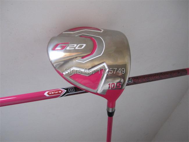 "Pink G20 Driver G20 Golf Driver G20 Golf Clubs 9.5""/10.5"" Graphite Shaft Regular/Stiff Flex With Cover&Adjusting Tool(China (Mainland))"
