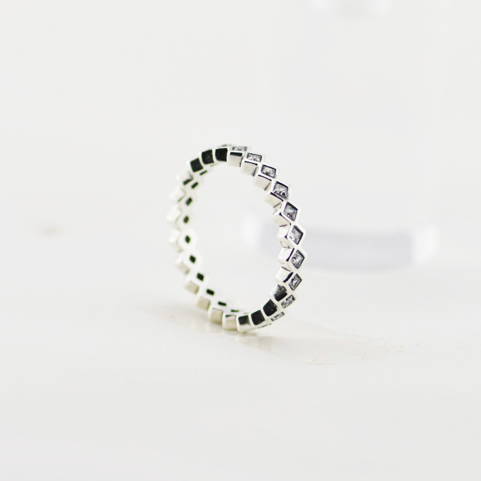 authentic 100 925 sterling silver rings with cubic