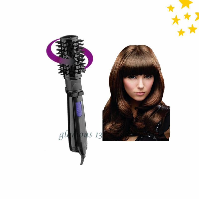New Hair Styler Roller Hot Air Brush Rotating Brush Ceramic Hair Curler 2 Inch Rotating Hair Brush Air Power 110V Or 220V(China (Mainland))