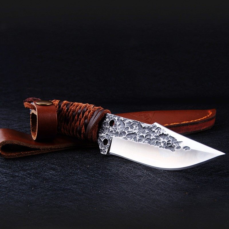 Buy Very sharp Handmade  small tool/ outdoor equipment/ fruit tactical hunting knife Necessary for survival in the wild cheap