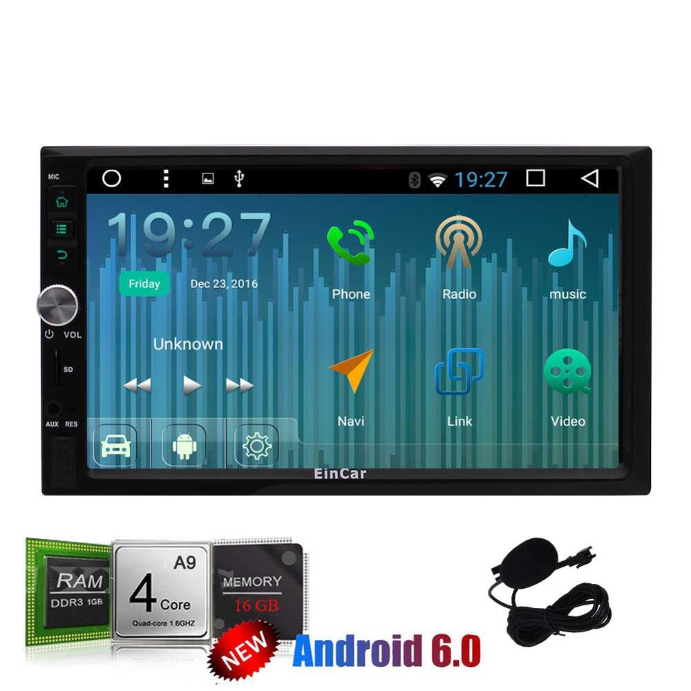 2din android6.0 2din Car gps headunit video Radio Double din Car gps Player GPS Navigation In dash Car PC Stereo video quad core