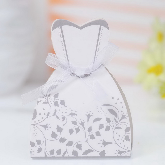 Tuxedo And Wedding Gown Favor Boxes Template Discount Wedding Dresses