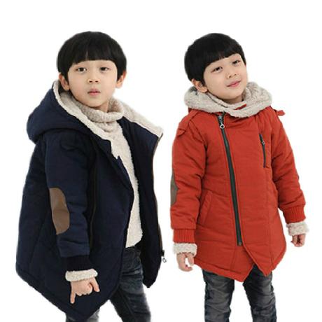 Child winter male child 2015 wadded jacket cotton-padded jacket child baby cotton-padded jacket outerwear(China (Mainland))