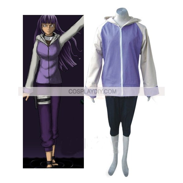Free shipping Custom made  Naruto Shippuden Hinata Hyuga Cosplay CostumeОдежда и ак�е��уары<br><br><br>Aliexpress