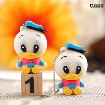 8gu plate donald duck cartoon usb flash drive mini birthday gift