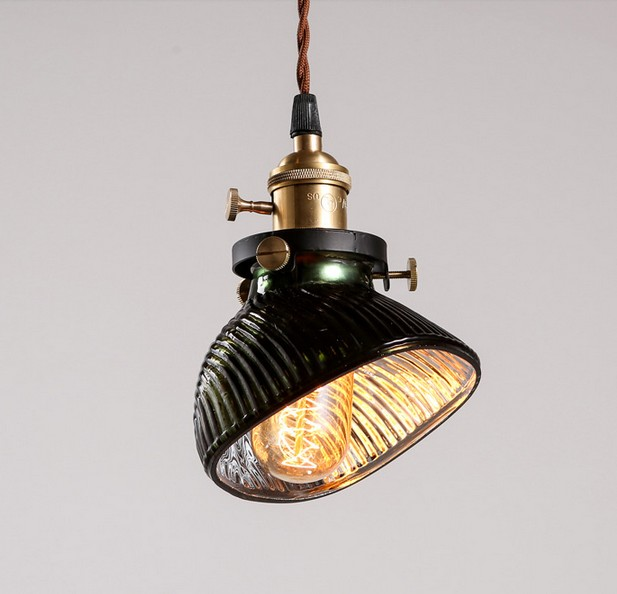 American Loft Style Glass Droplight Edison Vintage Pendant Light Fixtures For Dining Room Hanging Lamp Indoor Lighting Lamparas<br><br>Aliexpress