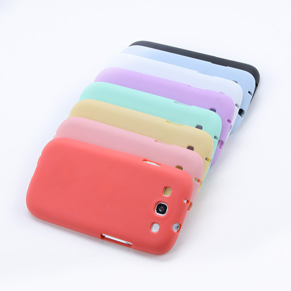 High Quality Jelly Soft Case Cover TPU Silicone Skin For Samsung Galaxy S3 i9300 Hot Sell shipping & Drop Shipping(China (Mainland))