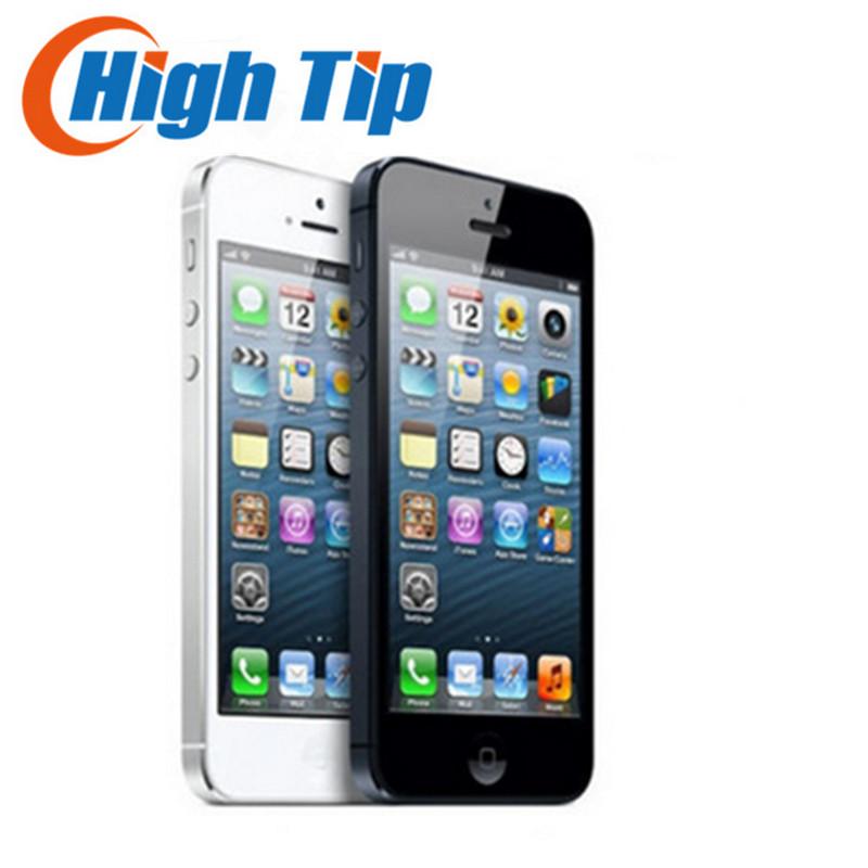 "Sealed box 100% Factory Original Unlocked Iphone 5 Apple Iphone 5 Cell phone 4.0""16GB/32GB/64GB Used 1 year warranty Free Ship(China (Mainland))"