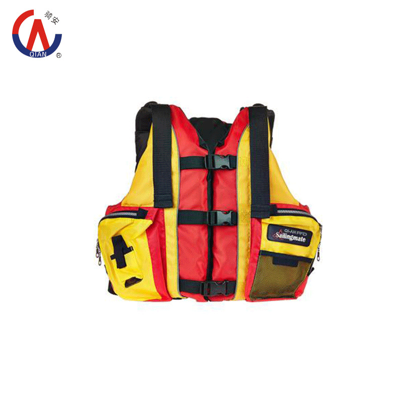 2015 New 210D Oxford with EPE Buoyancy Material ISO12402-3 Approved Adult Professional Water Sport Life Jacket/Vest High Quality(China (Mainland))