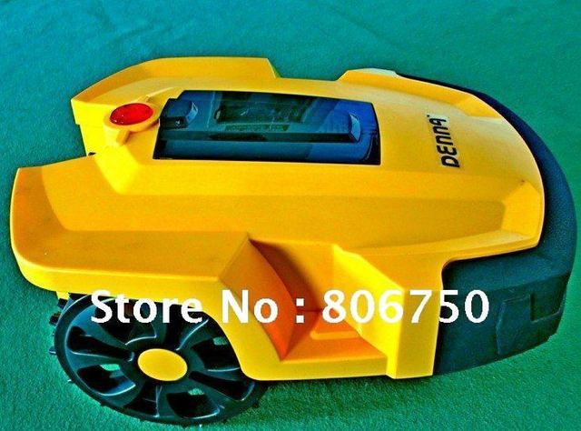 2013 Newest Li-ion Battery Generation Robot Lawn Mower+Blade rotate speed: 3200 R/M +4 blade+LCD display+Remote Controller
