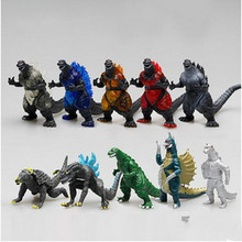 Godzilla Toy 2016 Japan Anime Action Figure 20pcs/lot 6~7CM PVC Huge Monster Toys For Boy and Girl Cheap Sale