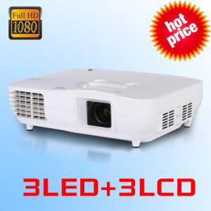 3D Large 200inch New X2000 3LCD 3LED 1080P Full HD LED Laptop Computer Video Projector Proyector 1920×1080