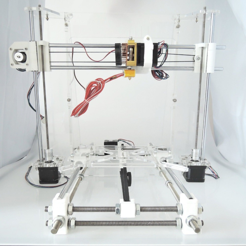 [Sintron] 3D printer full frame mechanical Kit for Reprap Prusa i3 DIY,Acrylic Frame,Plastic parts,LM8UU bearings(China (Mainland))