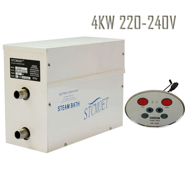 Free shipping 4KW 220-240V RESIDENTIALSteam bath generator With the best effective cost in total network,Fast-Response Safe,<br>