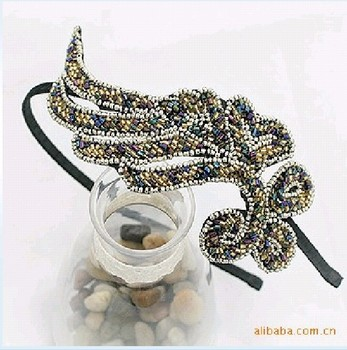 Free shipping Min order $15 Fashion Phoenix Pattern Hairbands SZu-c8417 (mix order)