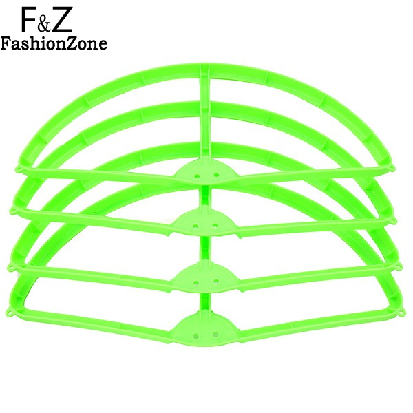 New 4PCS Propeller and 4PCS Protector For DJI Phantom 2 Vision+ Wltoys V303 CX-20 RC Drone Green