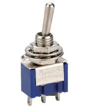 Мтс-102 защелка миниатюрный тумблер 125VAC 6а 3 контакт. на / на 2 позиции SPDT