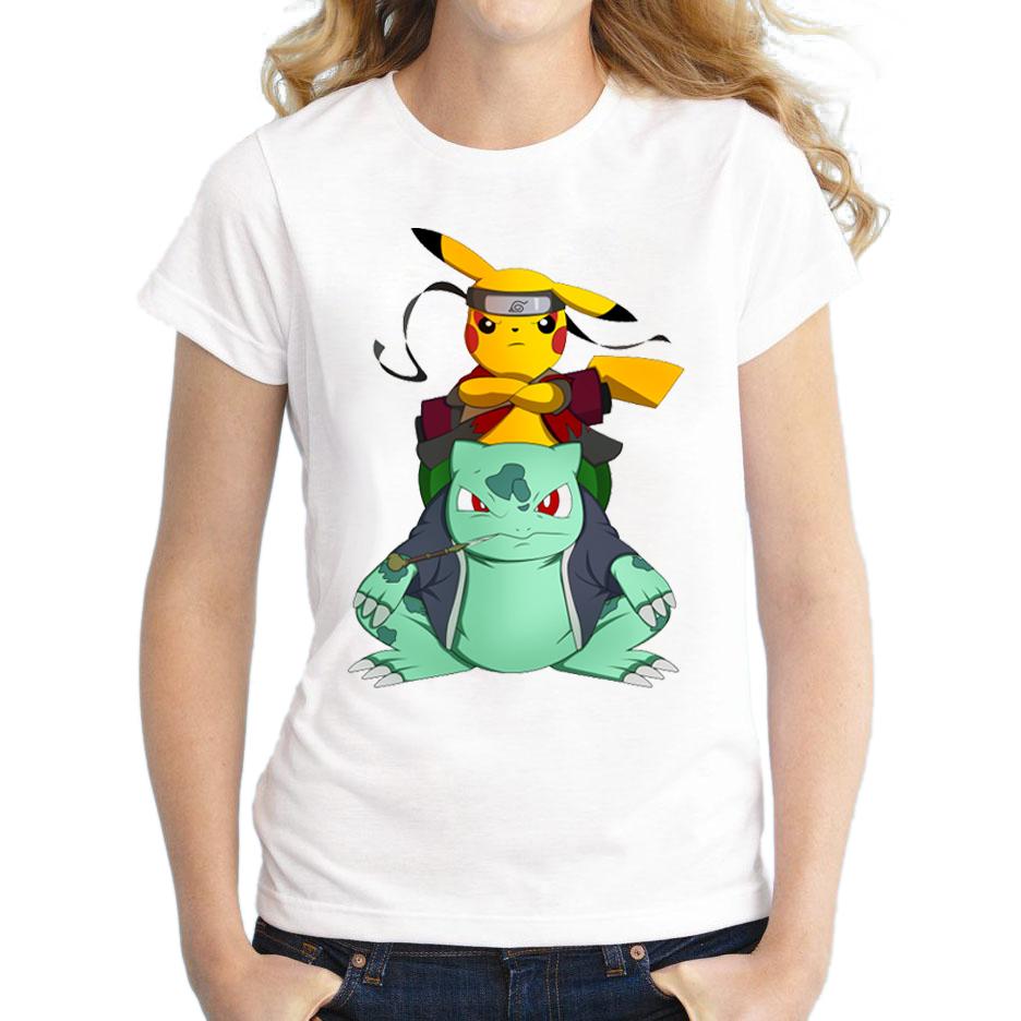 Pokemon Go Women T Shirt Pikachu T Shirt Go Pika Rangers