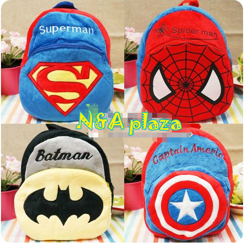 мультфильм Супермен/паук человек /batman /captain Америки