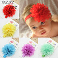 Hot Sale Baby Girl Elastic Hairband Children Hair Wear For Kids Head Band Flower Headband Baby
