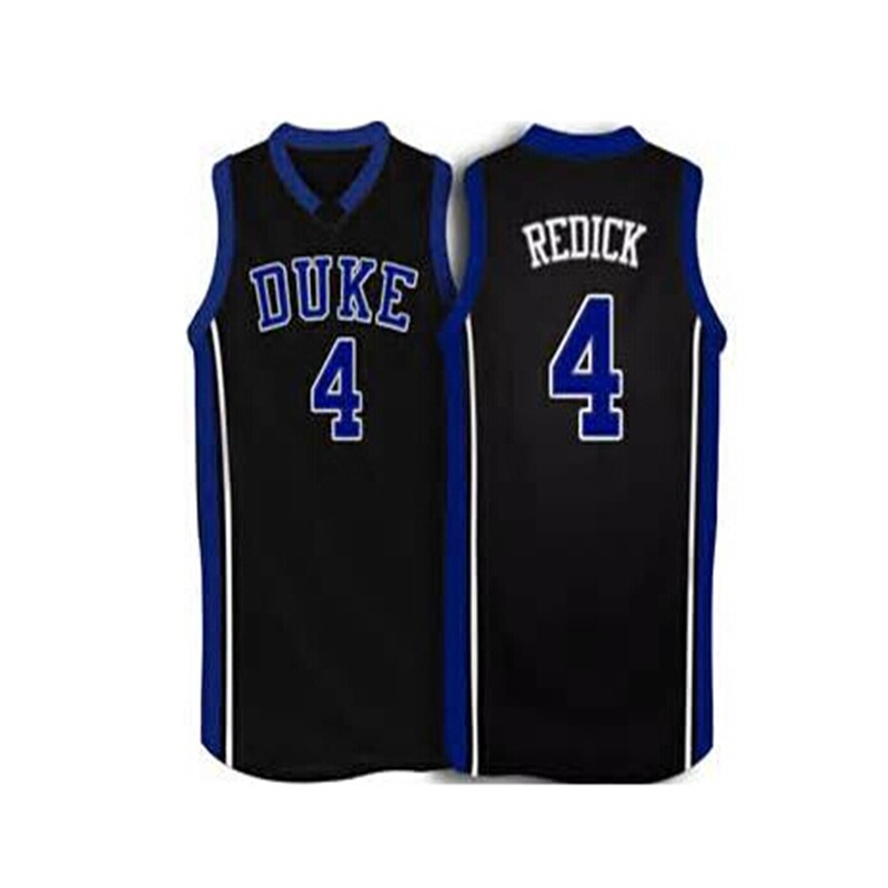 #4 JJ Redick Duke Blue Devils Throwback Jersey blue white Retro Basketball Jersey New Material Top quality embroidery jersey(China (Mainland))