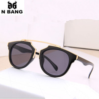 Luxury 2015 Sunglasses Women Resist Glare Sun Glasses For Men Visible Perspective Unisex Harf And Full Frame Free Shipping